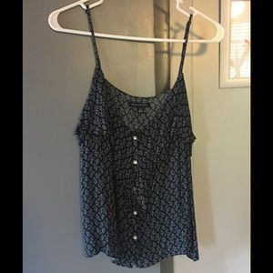 Button front tank top!